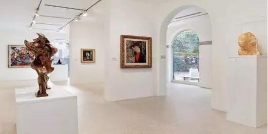 佩吉·古根海姆艺术博物馆内部