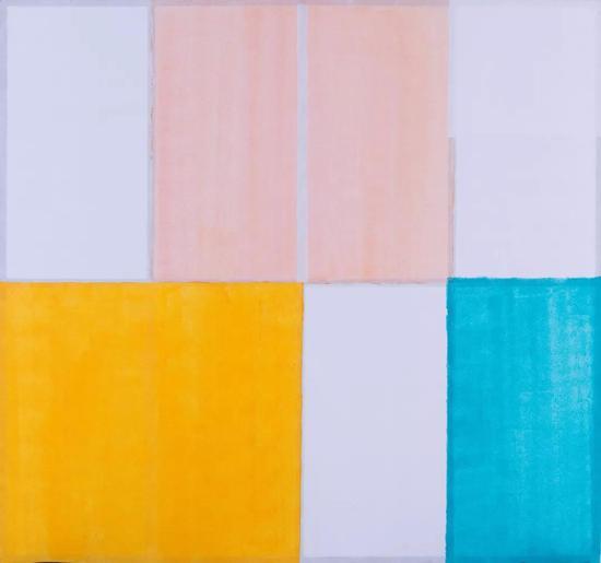李鹏 《无题02》 布面油画 30cm×30cm 2011