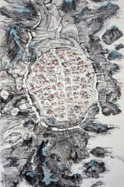 展览名称:邱志杰——寰宇全图