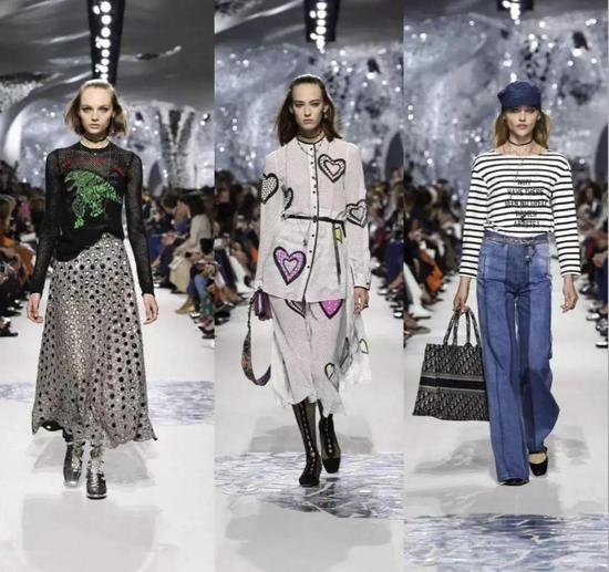 """Dior2018春夏系列的發布秀場設計靈感來源于妮基-圣法勒的作品""""塔羅花園""""  ?。▓D片來源于網絡)"""