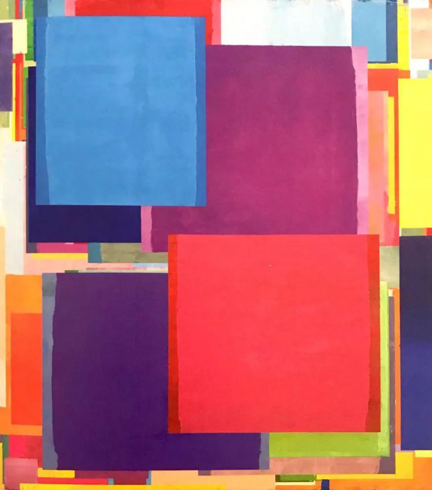 """""""逻辑自由"""" 抽象艺术展来了"""