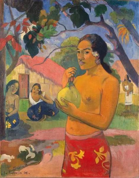 保罗·高更 ,Tahitian: Ea haere ia oe,1893