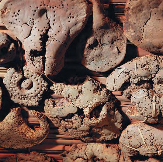 戴尔美迪纳18王朝建筑师卡伊的墓中发现的面包