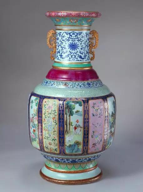 乾隆各种釉彩大瓶 故宫博物院藏