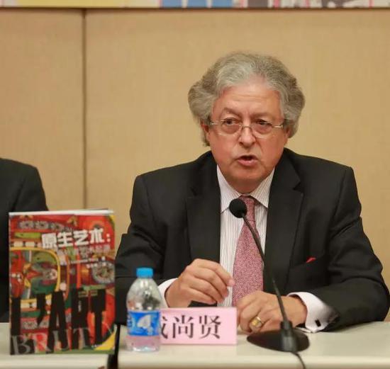 瑞士驻华大使亲自为张天志策划的原生艺术图书代言