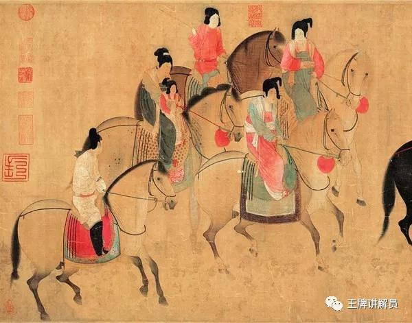 《虢国夫人游春图》是一幅非常漂亮的画。