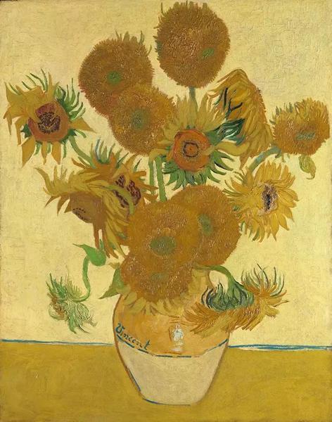 考陶尔德提供资金给伦敦国家美术馆购买的梵高《向日葵》