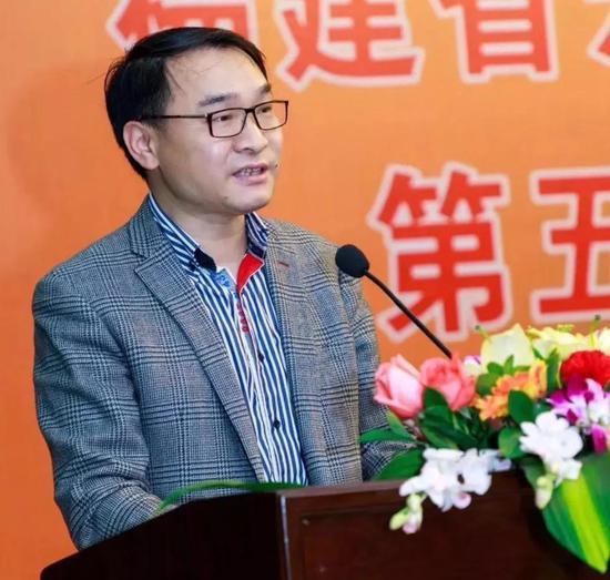 新一届研究会会长郑幼林当选后发言