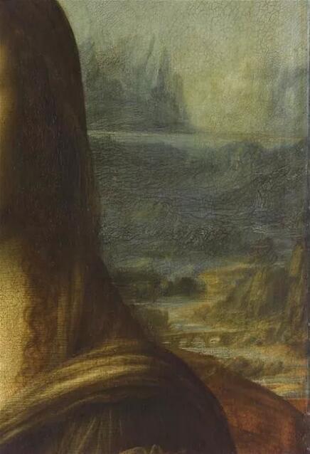 《蒙娜丽莎》细节(La Joconde)