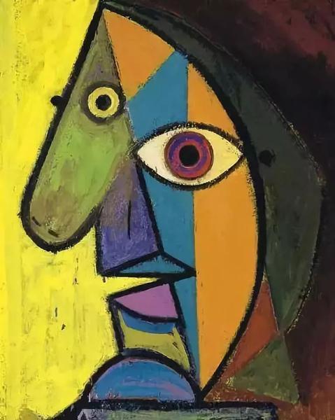 1938年朵拉所画的毕加索肖像