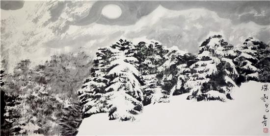 一、戴成有教授雪景山水的基本特征及创作历程