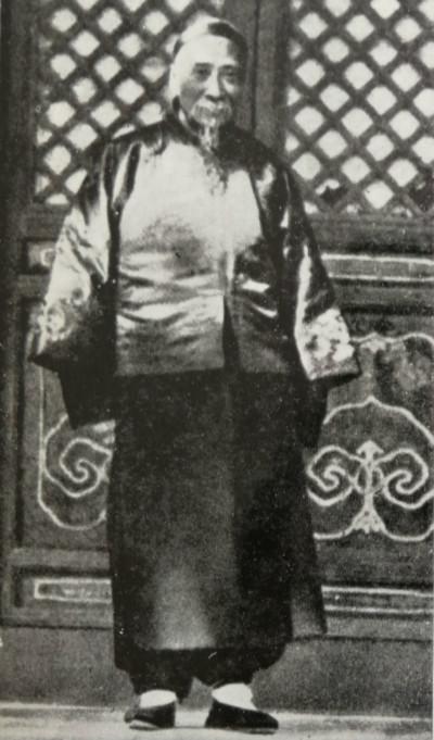 陈宝琛(图片来自香港文通书店版《我的前半生》)