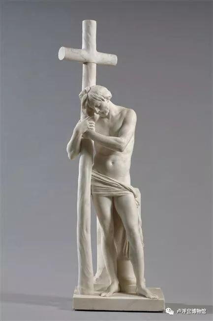 《倚靠十字架的耶稣》 Jésus-Christ appuyé sur la Croix