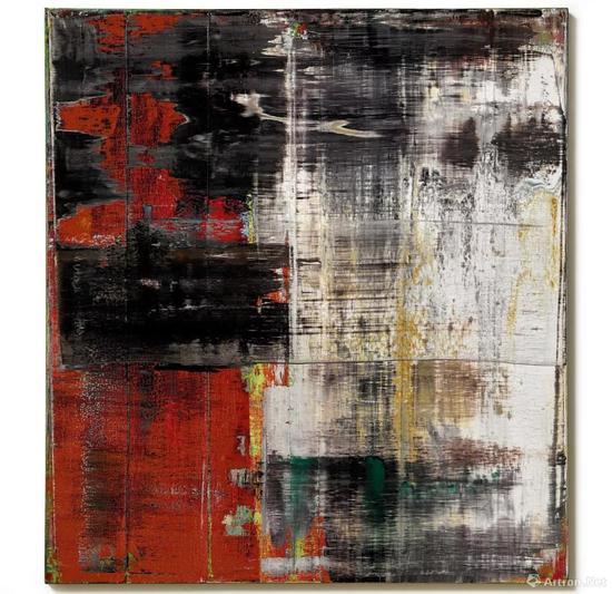 格哈德·里希特 《抽象画802-3》