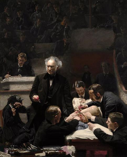 托马斯·伊金斯的杰作《总诊所》