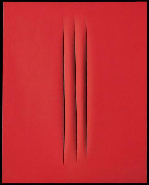 卢齐欧·封塔纳的作品 Concetto spaziale