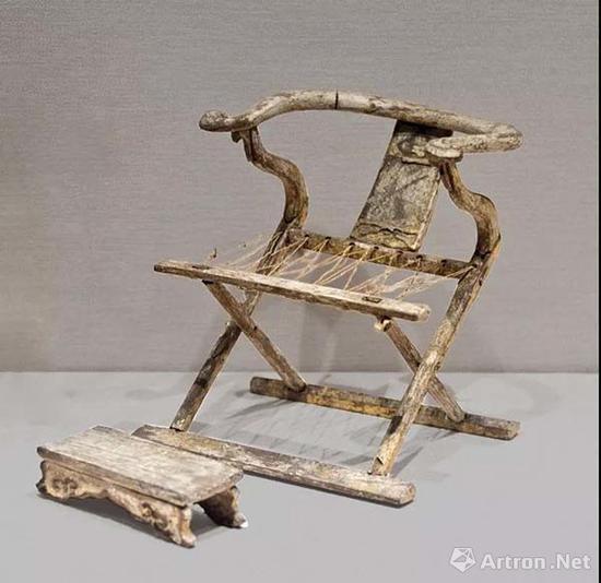 明早期 交椅模型 明鲁荒王朱檀墓