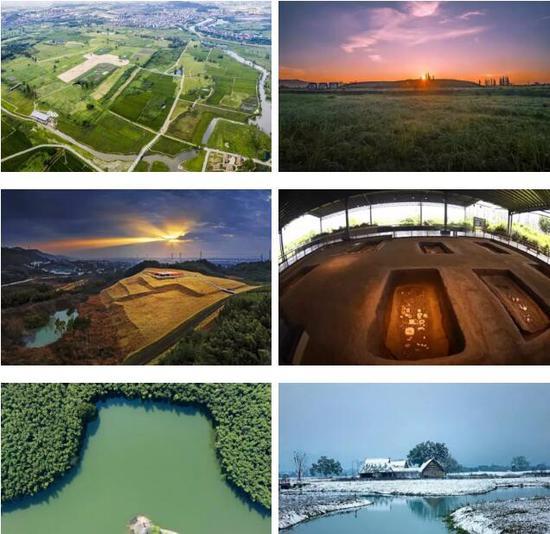 良渚古城遗址公园,图片来源于良渚文化