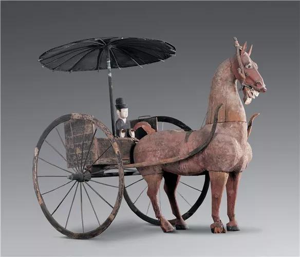 西汉·木轺车,甘肃省博物馆藏