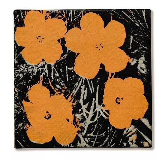 安迪·沃荷 《花》