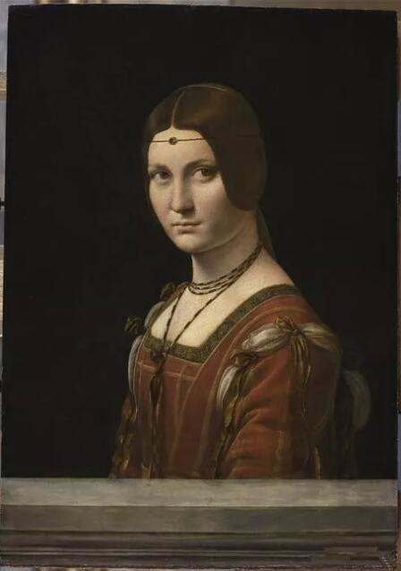 《美丽的费隆妮叶夫人》(La Belle Ferronnière)