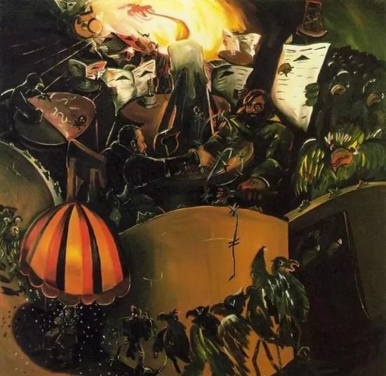 伊门多夫《德国咖啡馆-2》1978
