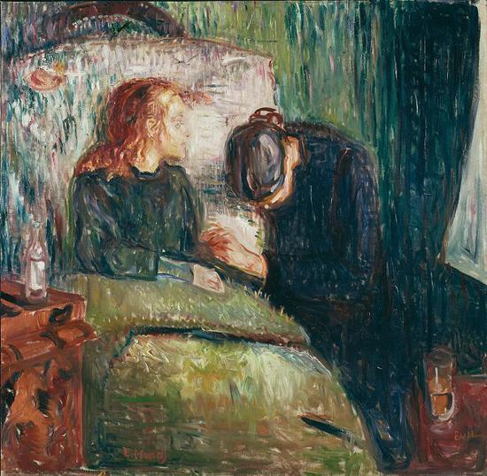 《病孩》(1907)