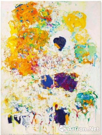 琼-米歇尔 《Blueberry》成交价:1660万美元,是2018上半年女性艺术家最高单价