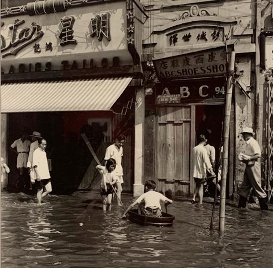 淮海路发大水