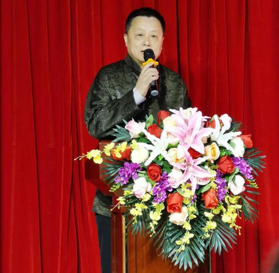 北京工美集团有限责任公司党委书记、董事长李节致辞