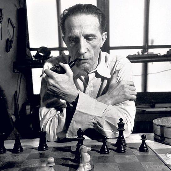 杜尚在下棋