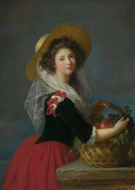 《卡德鲁斯公爵夫人》 1784年堪萨斯尼尔斯阿德金博物馆藏
