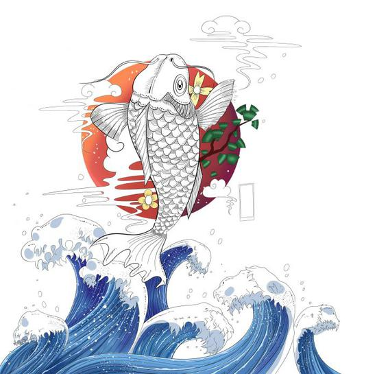 锦鲤图像志:民间巫术、吉祥与志怪