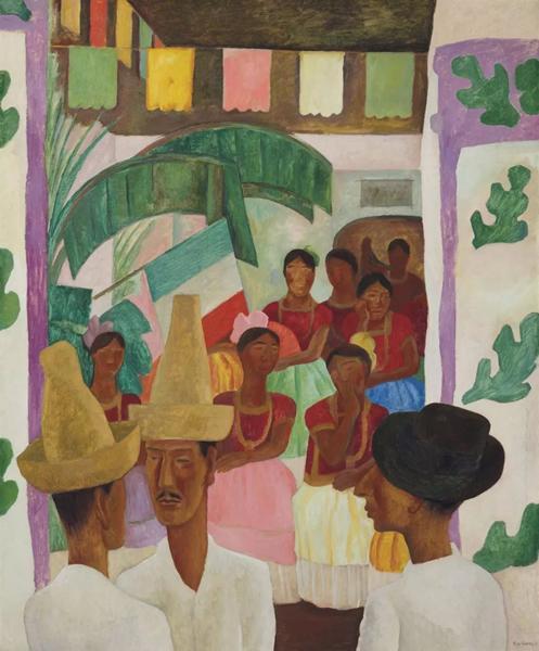迭戈·里维拉《对手》成为拍卖历史上成交价最高的拉丁美洲艺术家作品