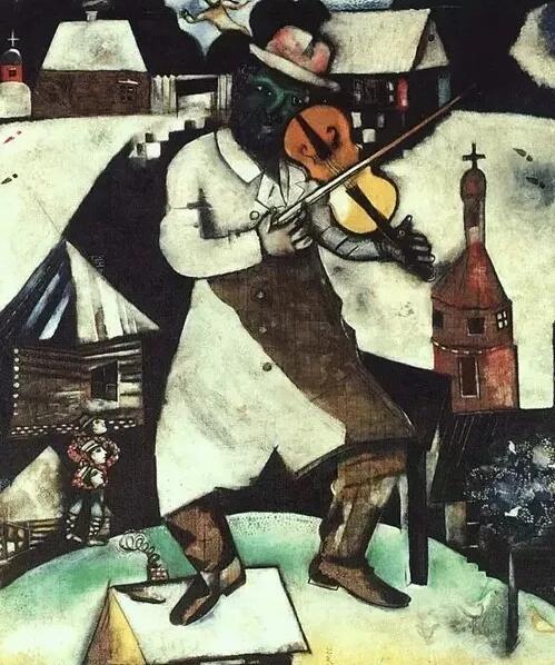 《小提琴手》,1913