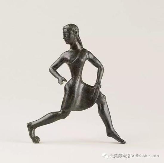 斯巴达女孩铜像,约公元前520至前500年
