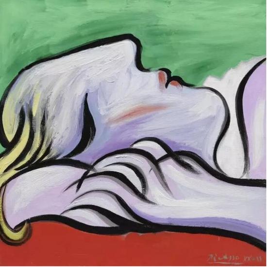 巴布罗·毕加索(Pablo Picasso)《休憩》,1932年作已售36,920,500美元