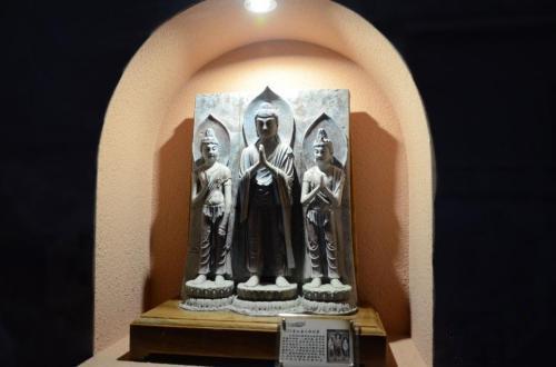 """此前,由敦煌研究院举办的""""数字敦煌展""""在兰州启幕。"""