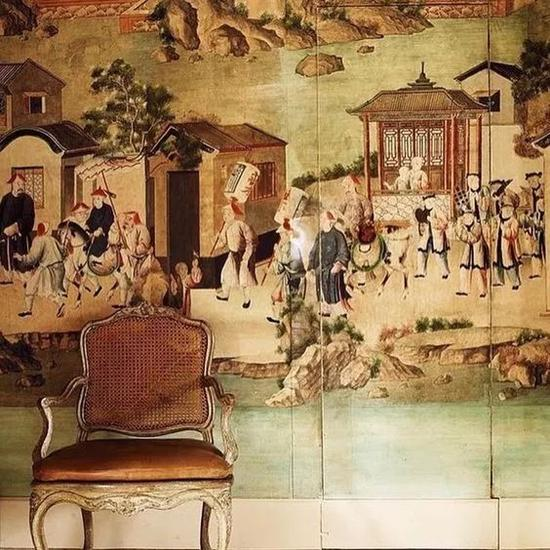 Givenchy 的豪宅中也有不少中国名画