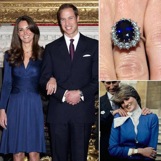 凯特王妃的蓝宝石戒指传承自戴妃