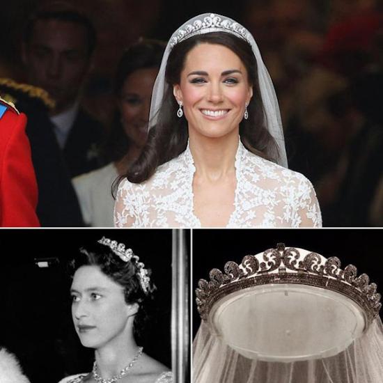 凯特王妃曾经在婚礼上佩戴的Halo冠冕