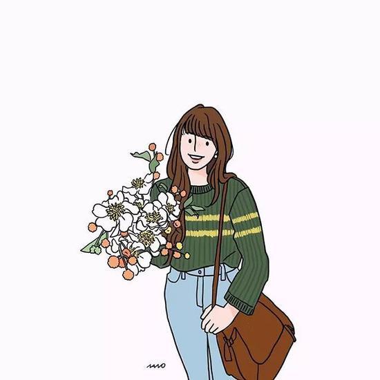 做一个温柔,而又不缺烈性的女子。