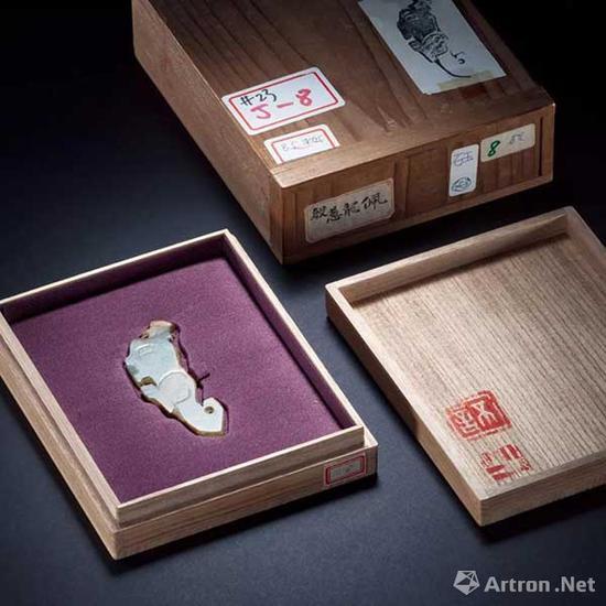 青黄玉兽形��成交价:7.475万元