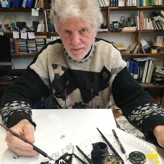 比利时艺术家克里斯蒂安·西尔万