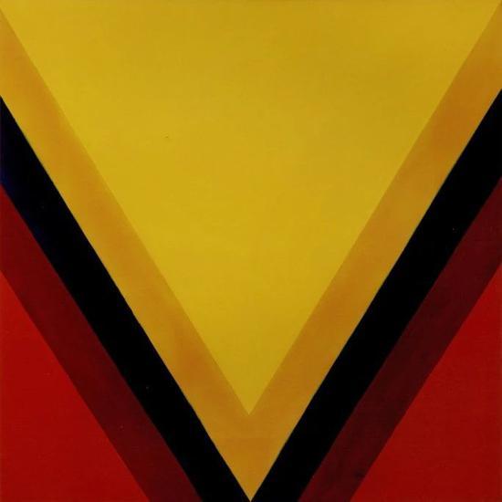 肯尼斯?諾蘭,《東-西》,1963年作,估價1,000,000–1,500,000美元