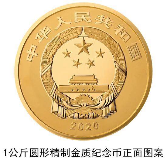 故宫600周年纪念币公告发行