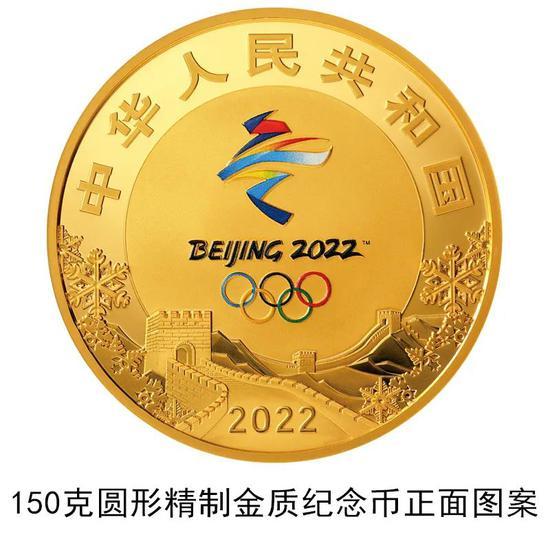 冬奧會第一組紀念幣正式發行