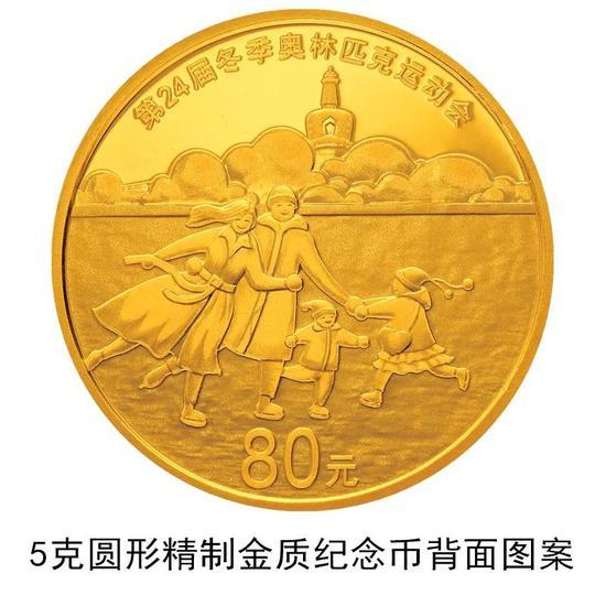 冬奥会第一组纪念币正式发行