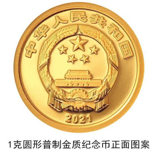 央行公告發行2021年賀歲金銀紀念幣一套