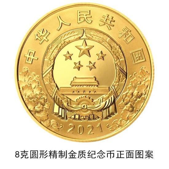 建党纪念币6月31日开始预约图1